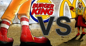 Burger King vs. McDonald's